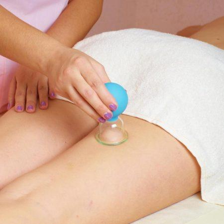 Баночный / вакуумный массаж от целлюлита