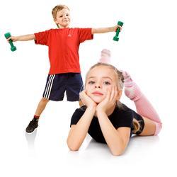 Лечебная физкультура (ЛФК) для детей от 3 до 14 лет