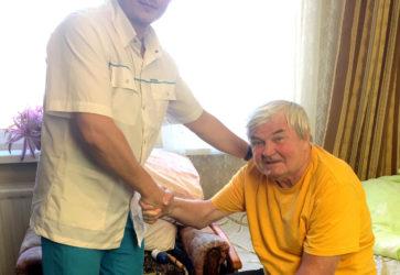 Восстановление после инсульта пожилых людей