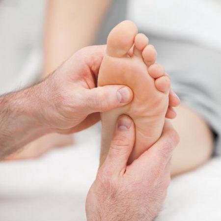 Массаж ног для детей