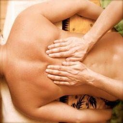 Классический массаж спины и тела