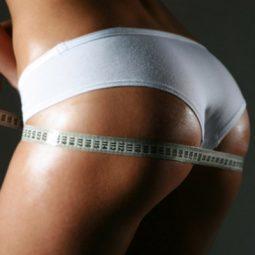 Как похудеть в попе (области ягодиц)