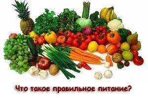 Правильное, сбалансированное питание