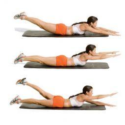 Упражнения для уменьшения боли в спине