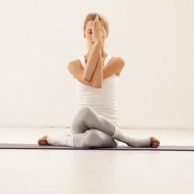 Занятие Хатха йога для начинающих